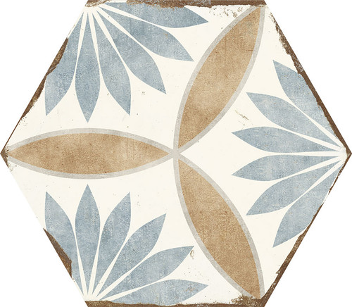 Bohemia Miranda Porcelain Hexagon 8x10 (BOMIHEX810)