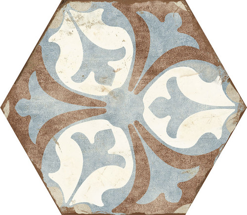 Bohemia Viana Porcelain Hexagon 8x10 (BOVIHEX810)