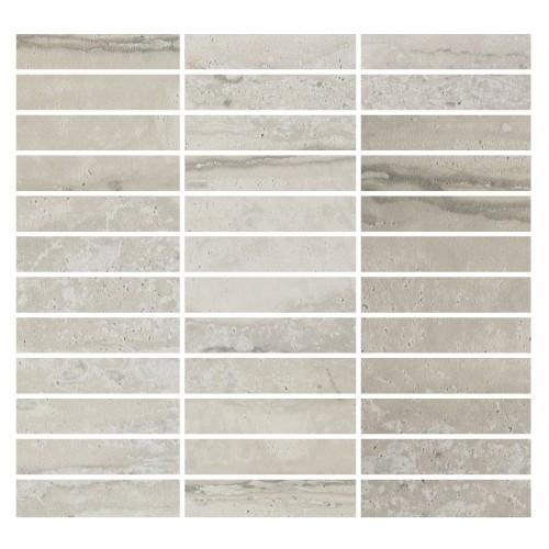 Nova Silver Matte Mosaic 1x4 (ZH6387QQ055P)