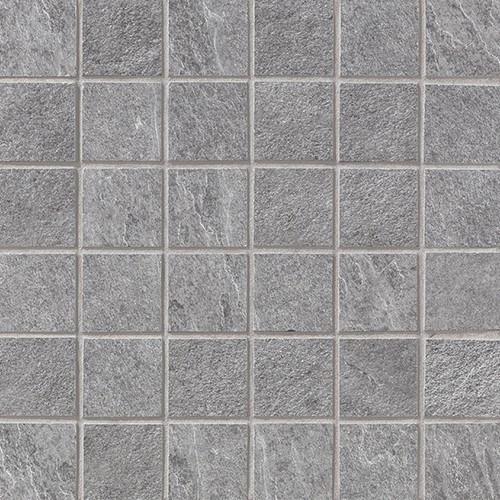 Waterfall Silver Mosaic 2x2 on a 12x12 Sheet (ALGCWF35)