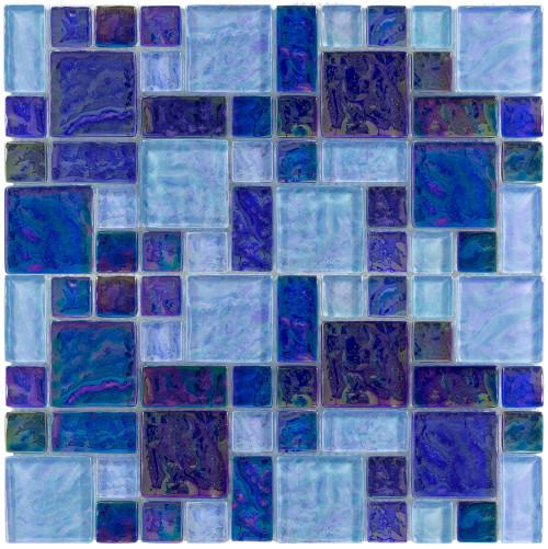 Splash Deep Blue Seas Mixed Mosaic (ANTHSPDB)