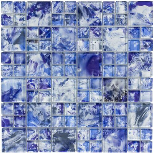 Splash Island Blue Mixed Mosaic (ANTHSPIB)