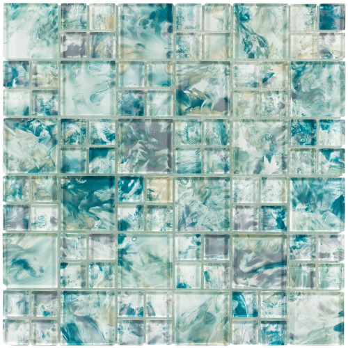 Splash Island Turquoise Mixed Mosaic (ANTHSPIT)
