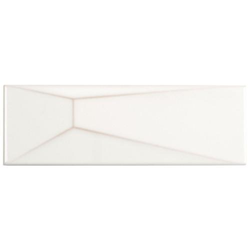Fifth Avenue Cloud Manhattan Ceramic Wall Tile 4x12 (ANTHFIMC)