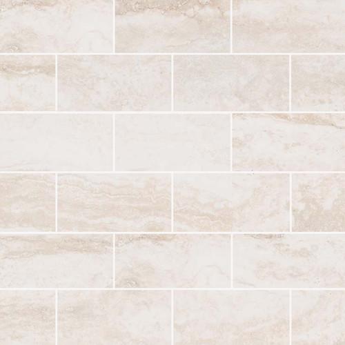 Pietra Bernini Bianco Polished 2x4 Mosaic (NPIEBERBIA2X4P)