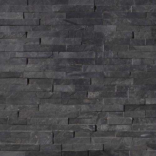Ledger Panel Premium Black Slate Splitface Panel 6x24 (LPNLSPREBLK624)
