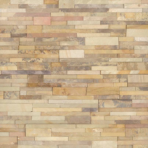 Ledger Panel Sedona Fossil Splitface Panel 6x24 (LPNLDSEDFOS624)