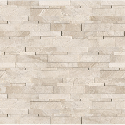 Ledger Panel Impero Reale Honed Cubic Wall Panels 6x24 (72-613)