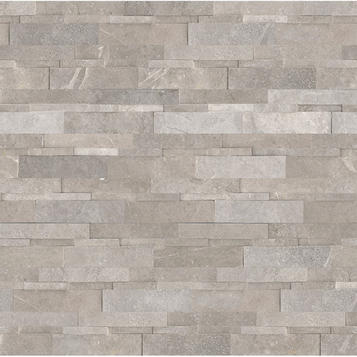Ledger Panel Ritz Grey Honed Cubic Wall Panels 6x24 (72-614)
