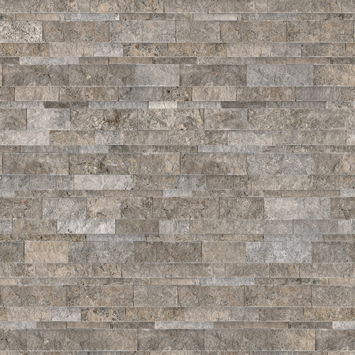 Ledger Panel Silver Ash Split Face Wall Panels 6x24 (73-359)