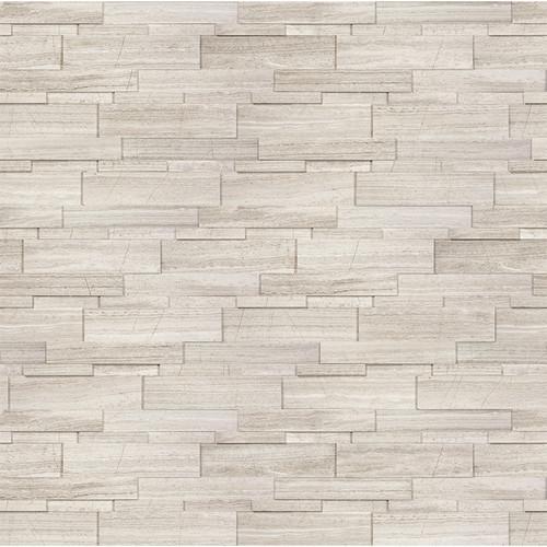 Ledger Panel Strada Mist Honed Cubic Wall Panels 6x24 (72-611)