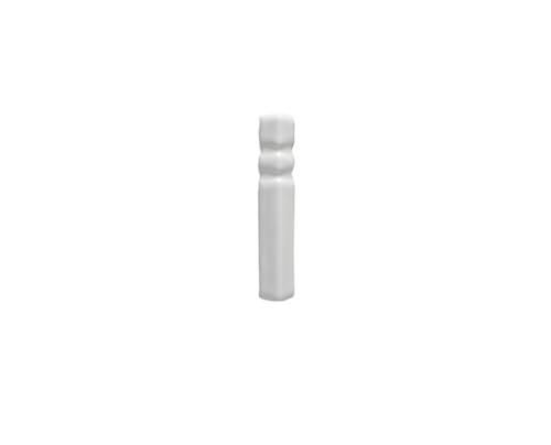 Riviera Lido White Base Board End Cap (ADRLI810)