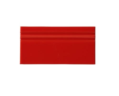 Riviera Monaco Red Base Board 4x8 (Glazed Top Edge) (ADRMO809)