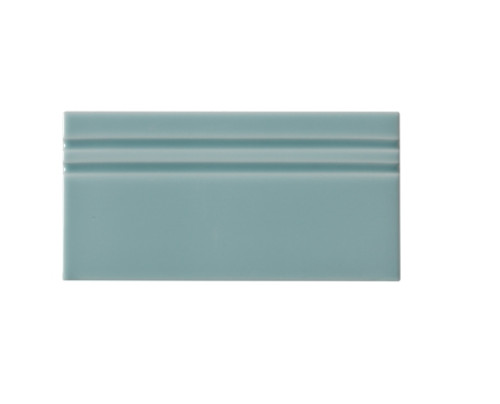 Riviera Niza Blue Base Board 4x8 (Glazed Top Edge) (ADRNI809)