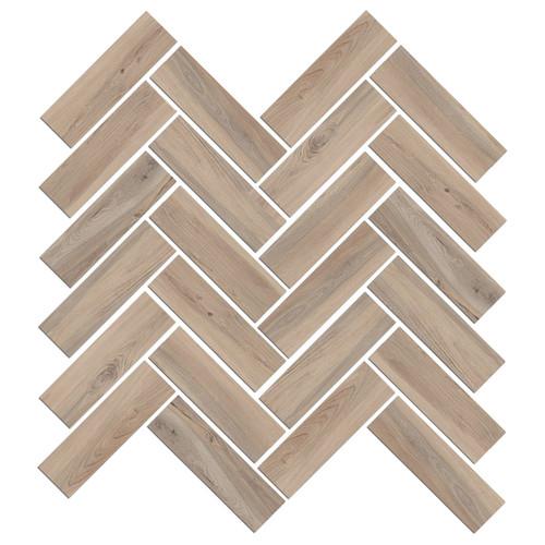 Mood Wood Honey Herringbone Mosaic (1100829)