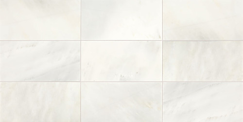 Candora Vestal White Honed Marble 12x24 Floor Tile (M04612241U)
