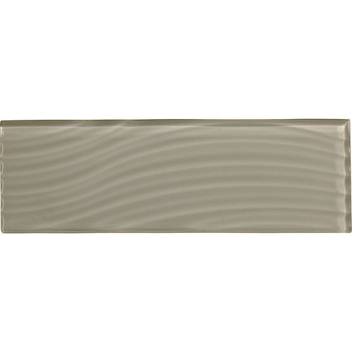 Color Appeal Abstracts Silver Cloud 4x12 (C102412W1P)