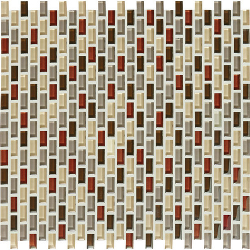 Color Appeal Renewal Earth Fire Chain-Linked Mosaic (C1313834BJMS1P)