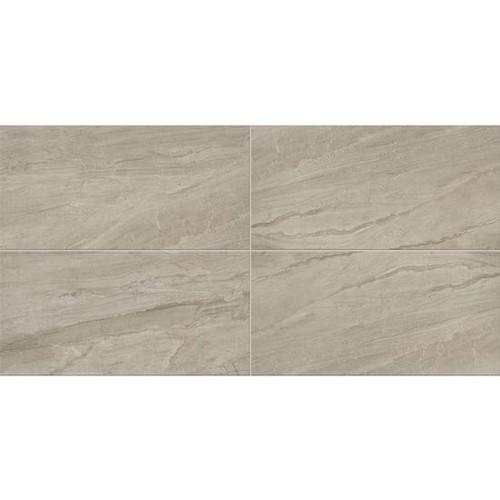 Impresa Light Gray Ceramic Floor Tile 12x24 (IM0812241PV)