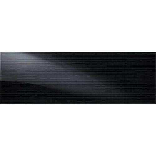 Perspecta Spacial Black Ceramic Wall Tile 8x24 (PE138241P2)