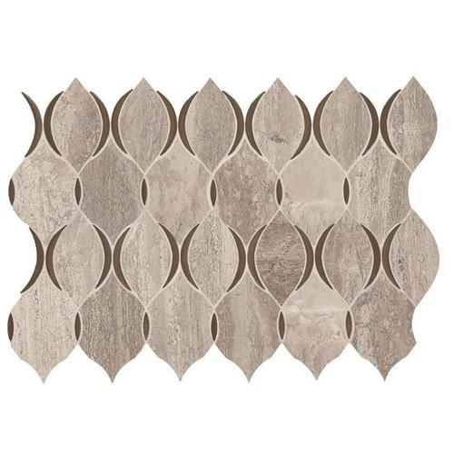 Presario Reverent Taupe Polished Modern Lantern Mosaic (DE50MODLANTMS1L)