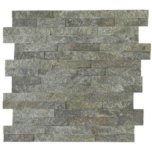 Stacked Stone Beijing Green Panel 6x24 (S282624STACK1T)