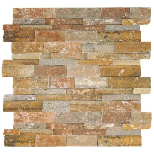 Stacked Stone Shanghai Rust Panel 6x24 (S349624STACK1T)