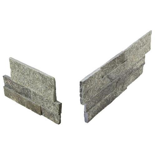Stacked Stone Beijing Green Panel Corner 6x24 (S282624CORNER1T)