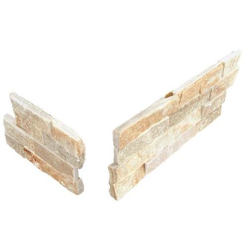 Stacked Stone Golden Sun Panel Corner 6x24 (S783624CORNER1T)
