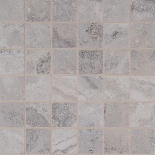 Napa Gray Matte Mosaic 2x2 (NNAPGRA2X2)