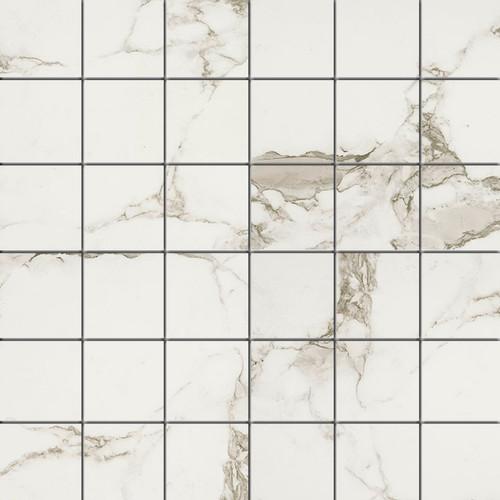 Pietra Statuario Matte Mosaic 2x2 (NSTA2X2-N)