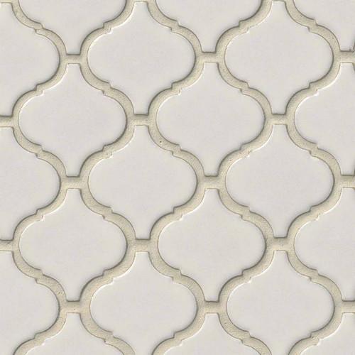 Bianco Arabesque Mosaic (SMOT-PT-BIANCO-ARABESQ)