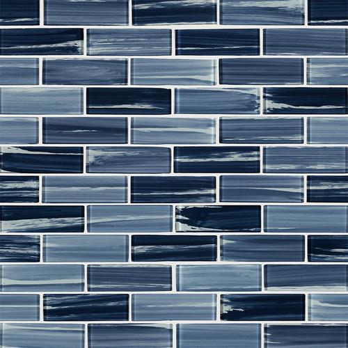 Oceania Azul 2x6 Mosaic (SMOT-GLSST-OCEAZU8MM)
