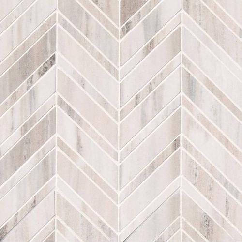 Palisandro Polished Chevron Mosaic (SMOT-PALI-CHEVRON10MM)