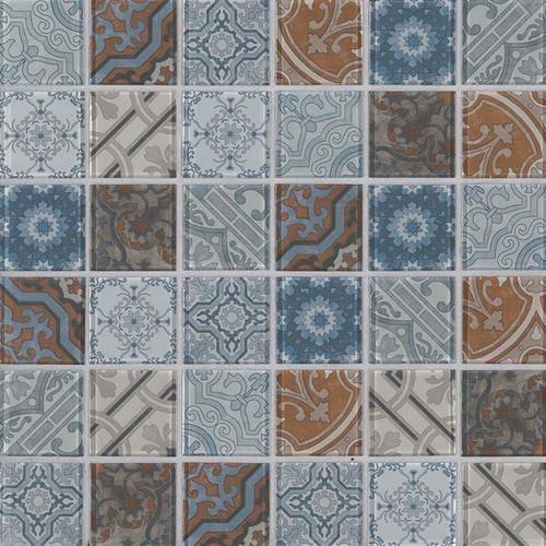 Pasadena 2x2 Mosaic (P-SMOT-GLS-PASA6MM)