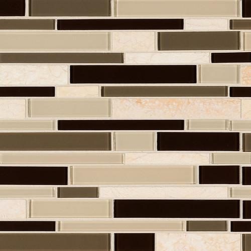 Sonoma Valley Interlocking Mosaic (SMOT-SGLSIL-SONVAL4MM)