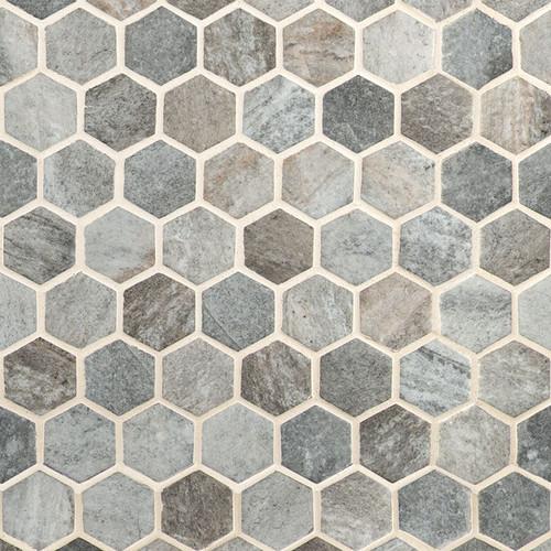Stonella Hexagon Mosaic (SMOT-GLS-STNELA6MM)