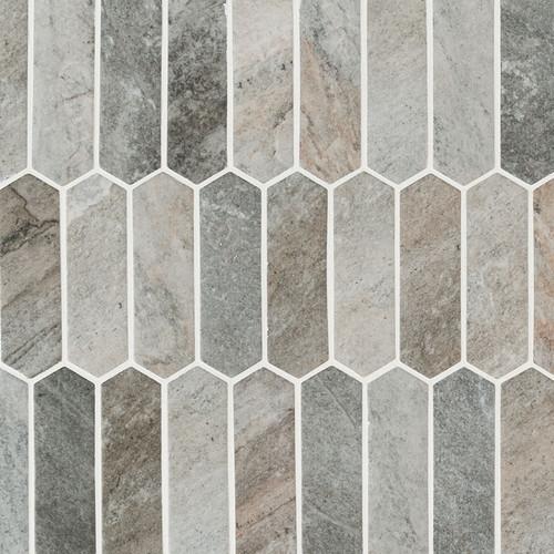 Stonella Picket Mosaic (SMOT-GLSPK-STNELA6MM)