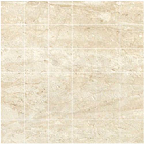 Marmi Crosscut Travertine Honed Mosaic 2x2 (5 Pcs) (IRG12M095P)