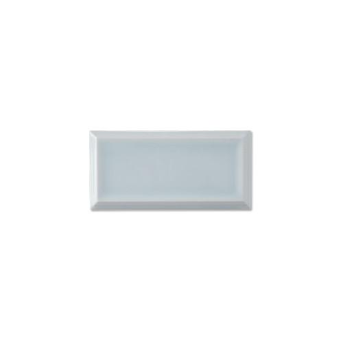 "Studio Ice Blue Framed 2.8"" Glazed Edge 2.8x5.8 (ADSTI907)"
