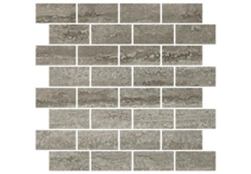 Heritage Silver Brick Mosaic 1.5x3 (1100228)