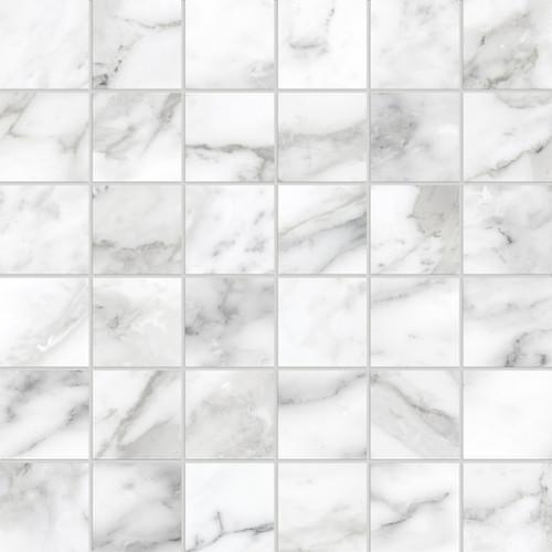 La Marca Arabescato Honed Mosaic 2x2 (4501-0367-0)