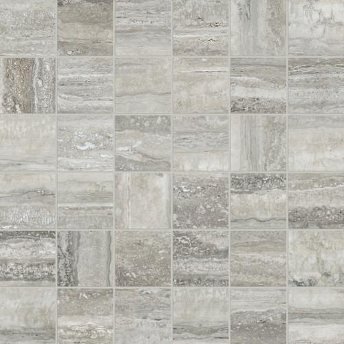 La Marca Travertino Instrato Honed Mosaic 2x2 (4501-0373-0)
