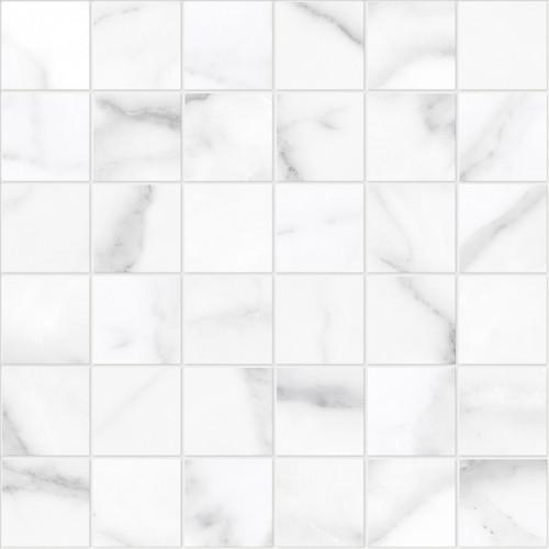 La Marca Statuario Nuovo Honed Mosaic 2x2 (4501-0374-0)