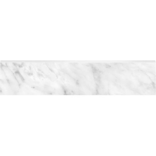 La Marca Carrara Gioia Honed Bullnose 3x12 (4502-0293-0)