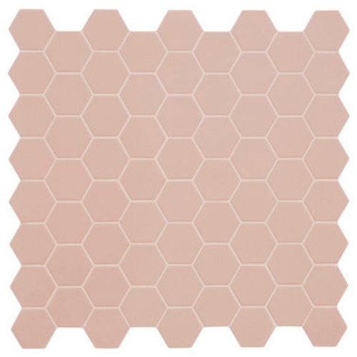 Hexa Rosy Blush Hexagon Matte Mosaic (GSPHXRBMATMOS)