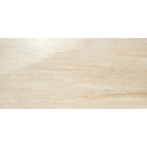 Travertini Beige Polished Rectified 12x24 (1036719)