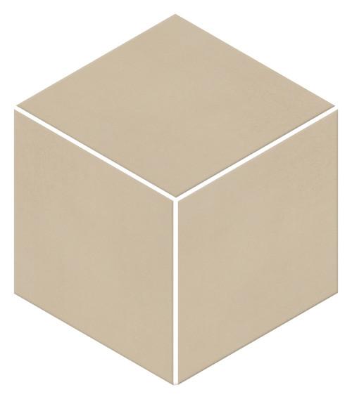 Neoconcrete Beige Matte Mosaic 3D Cube 12x12 (NE113DCUBEMS1P2)