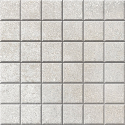 Brooklyn Cemento Argent Honed Mosaic 2x2 (IRG12MO182)