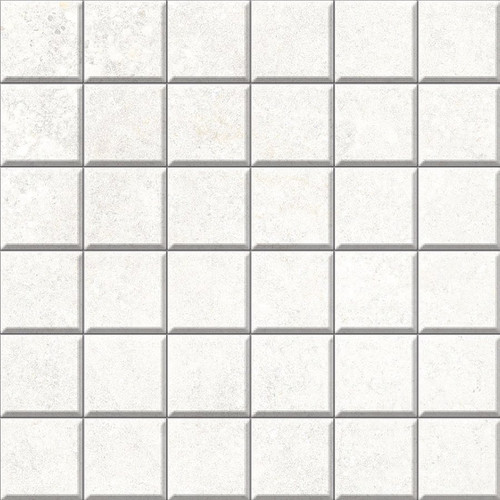 Brooklyn Cemento White Honed Mosaic 2x2 (IRG12MO187)